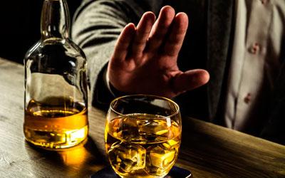 Зависимый прекращает принимать алкоголь - Веримед