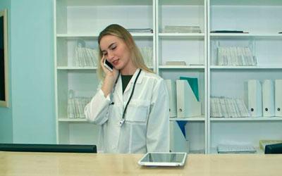 Звонок в приемную клиники – Веримед