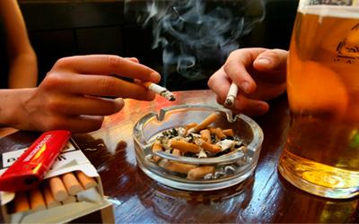 К наркотическим веществам можно отнести табак и алкоголь - Веримед