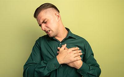 Тяжесть и ощущение сдавливания в груди - Веримед
