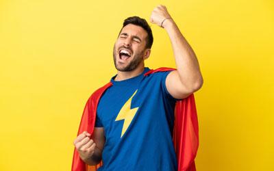 Человек чувствует себя супергероем - Веримед